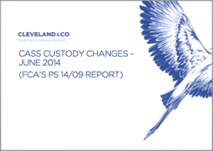 CASS custody changes