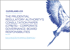 The Prudential Regulatory Authority's consultation paper (CP18/15) - Corporate governance: board responsibilities