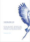 FCA alert: risks of accepting business from Introducers