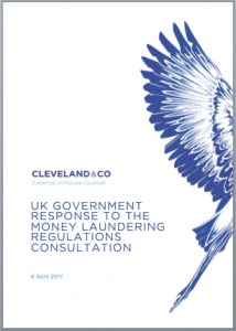 UK Government response to Money Laundering Regulations Consultation