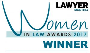 Emma Cleveland wins Boutique Lawyer of the Year for Women in Law Awards 2017