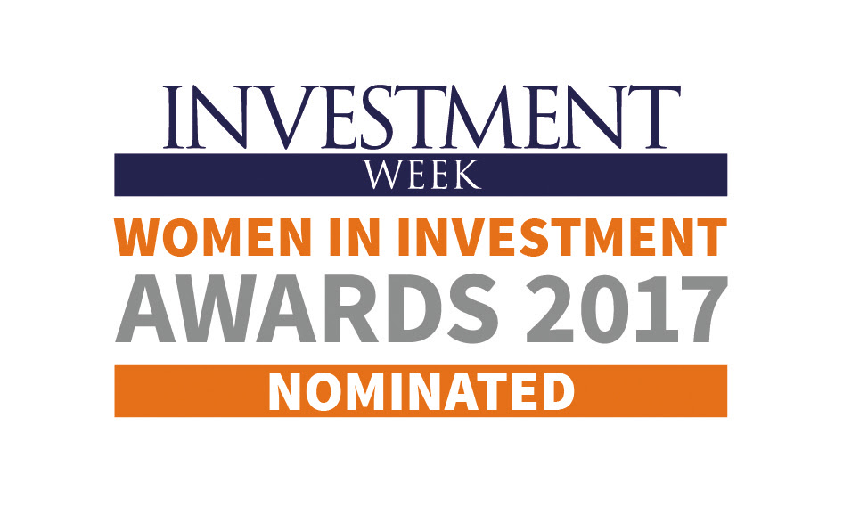Emma nominated Investment Week Women in Investment Awards 2017