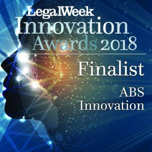 C&Co shortlisted for Legal Week Innovation Awards 2018!