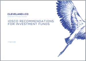 IOSCO recommendations for investment funds