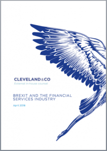 BREXIT and the Financial Services Industry
