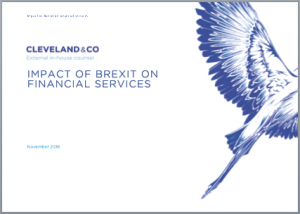 Brexit: impact on financial services