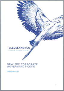 New FRC Corporate Governance Code
