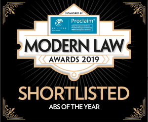 Cleveland & Co shortlisted for Modern Law Award