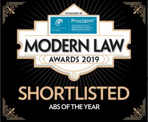 UK: C&Co shortlisted for Modern Law Award 2019