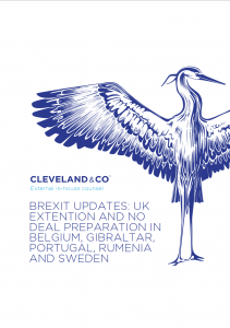 Brexit update: No deal preparations - Belgium, Gibraltar, Portugal, Romania & Sweden