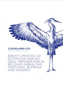 Brexit update: No deal preparations - Belgium, Gibraltar, Portugal, Romania & Sweden